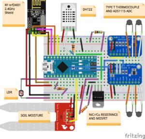 Schematics for IoTrees Sensing Station v1.3